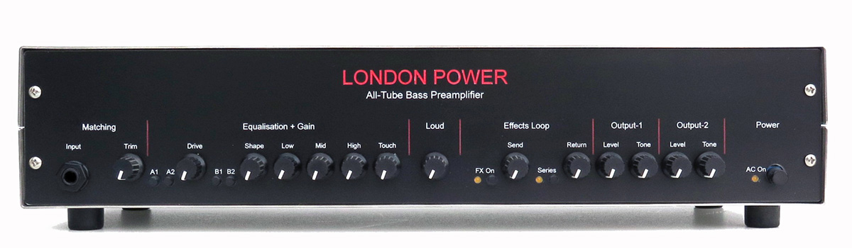 London Power's All-Tube Bass Preamp