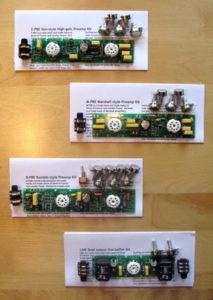 London Power Preamp Kits
