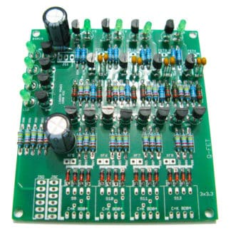 Q-FET - Quad Jfet Interface for Switching - Kit by London Power